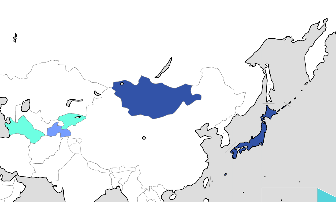 East Asia / Central Asia