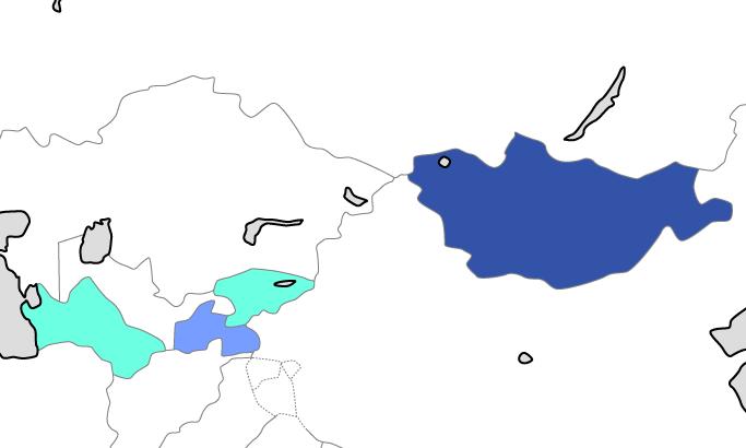 東アジア・中央アジア