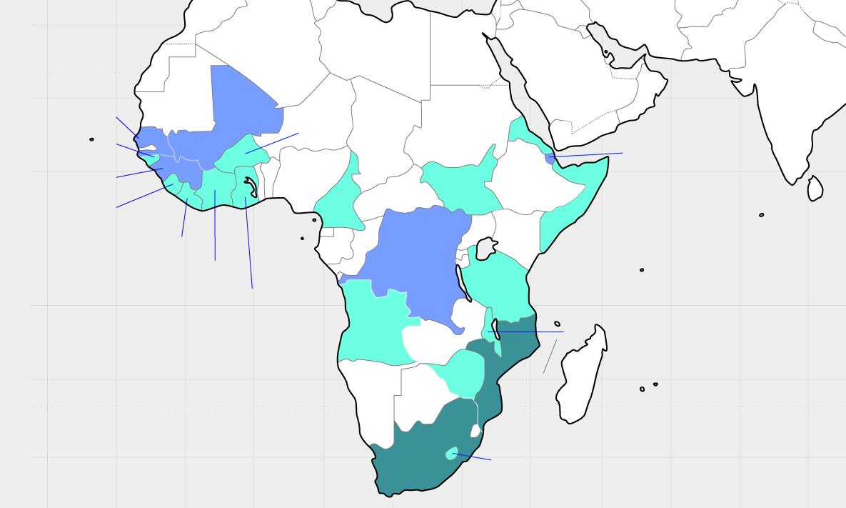 サブサハラアフリカ